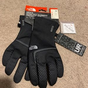 The North Face Gore CloseFit Tricot Gloves - Men's